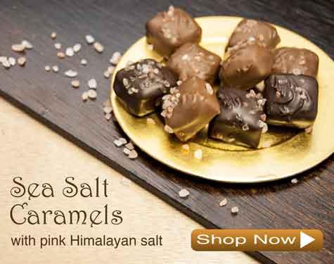 Sea Salt Caramels Chocolates