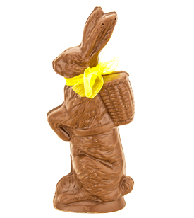 Herman Backpack Solid Chocolate Bunny