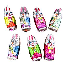 Easter Foiled Milk Chocolate Bunnies