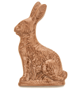 Patsy Solid Chocolate Easter Bunny