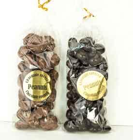 Peanuts in Milk or Dark Chocolate